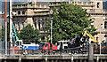 J3474 : City Quays hotel construction, Belfast - August 2016(1) by Albert Bridge