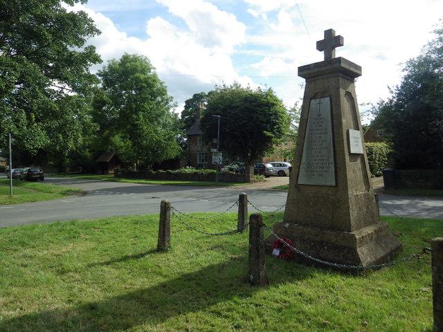 War Memorial, Priors Marston