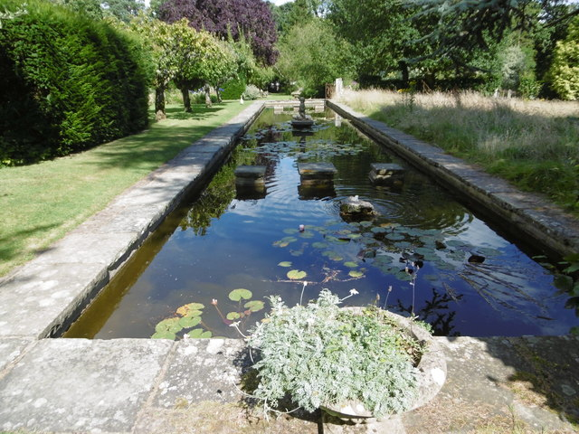 Ornamental pond king john 39 s garden marathon geograph for Ornamental pond