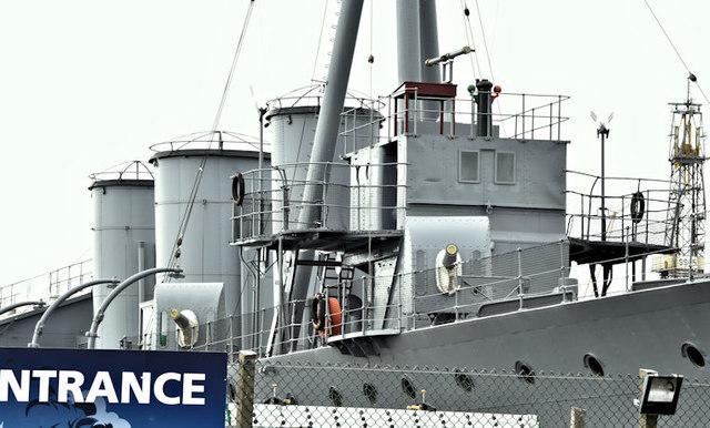 "HMS ""Caroline"", Belfast (August 2016)"