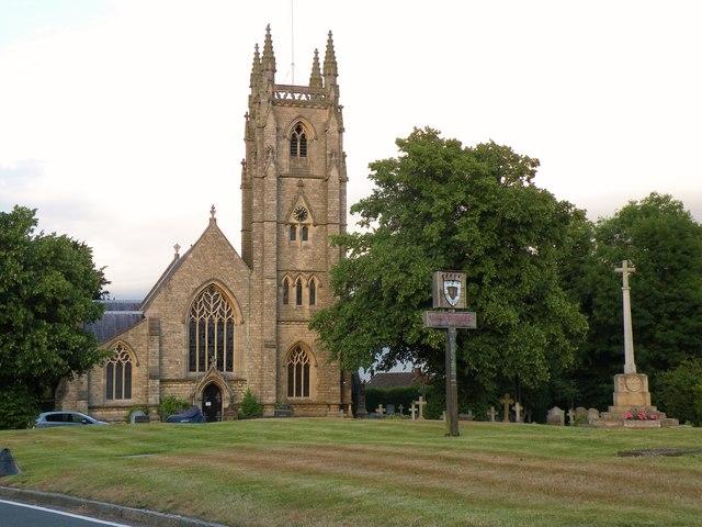 St Thomas a Becket; the parish church of Northaw