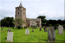 The Parish Church of St Laurence, Morland by Des Colhoun
