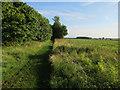 TL3055 : Bridleway from Longstowe by Hugh Venables