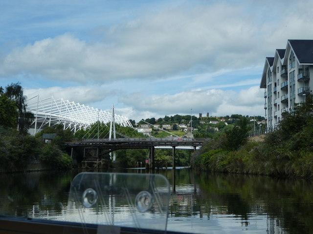 Bascule Bridge, Swansea