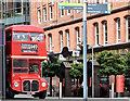 J3474 : Former London Transport Routemaster, Belfast (August 2016) by Albert Bridge