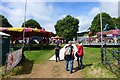 ST5571 : Entrance to the Balloon Fiesta site by David Lally