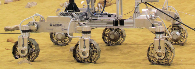 The Mars Rover Test Facility - Chassis and Wheels