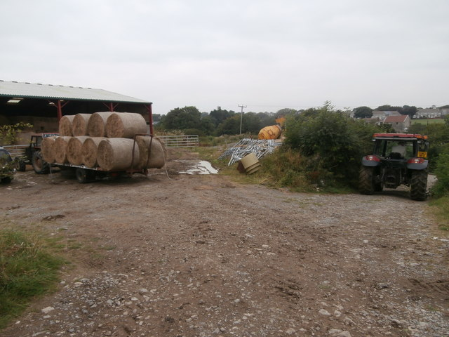 The yard, Lower House Farm