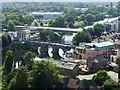 SO5039 : Hereford Wye Bridge by Russel Wills