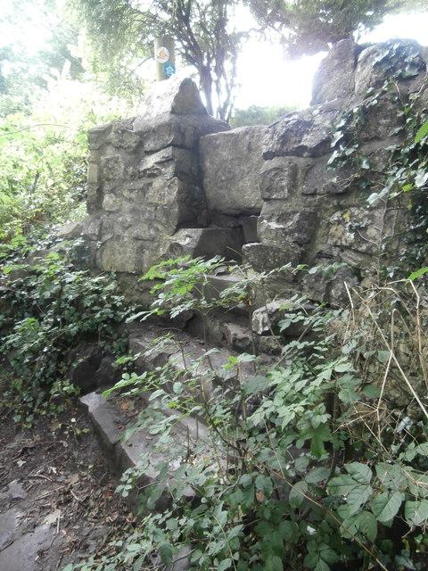 Stone stile, Llantwit Major