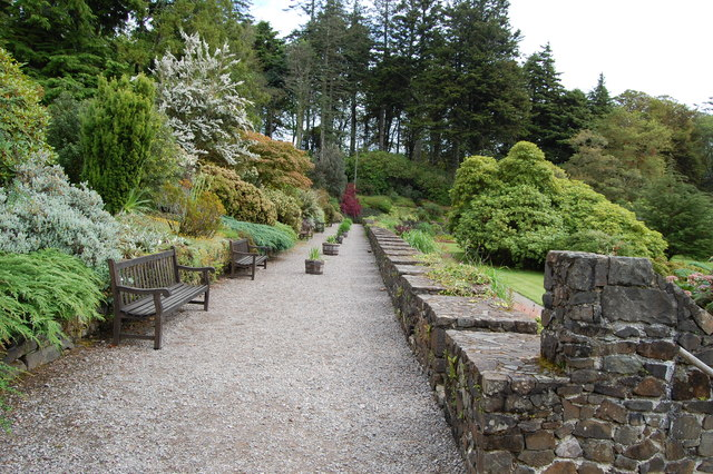 Armadale Castle Gardens--Terraced Walk