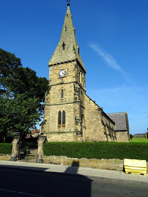 Church of St John the Baptist, Alnmouth