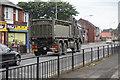 TA1230 : Broken down army lorry by Ian S