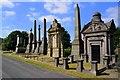 SE1734 : Undercliffe Cemetery, Undercliffe Lane, Bradford : Week 33