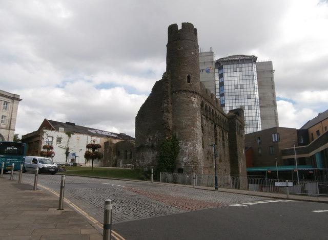 Ruins of Swansea Castle