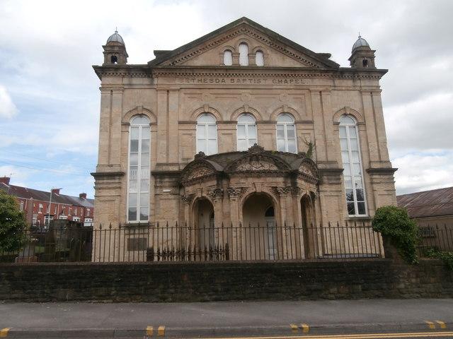 Bethesda Baptist Chapel, Swansea