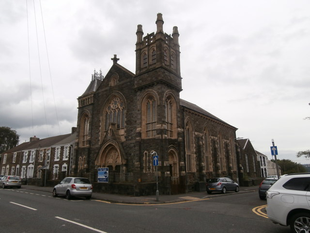 Church for sale, corner of Llangyfelach Rd and Bryn Terrace, Swansea