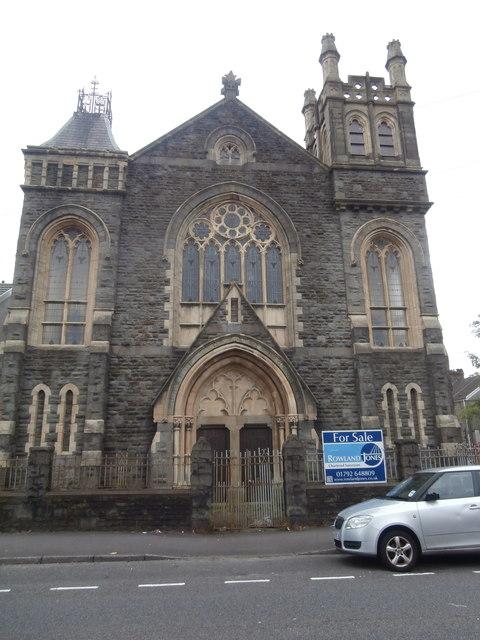 Church for sale, corner of Llangyfelach Rd and Bryn Terrace, Swansea