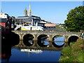 H4572 : Bells Bridge, Omagh by Kenneth  Allen