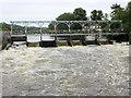 SU7781 : Mill Bank Weir by Nigel Mykura