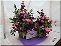 SK2476 : Floral display at Froggatt Show by Neil Theasby
