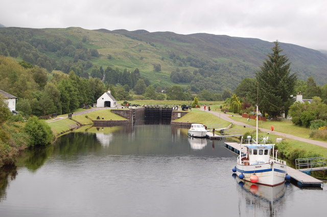 Approaching Cullochy Lock