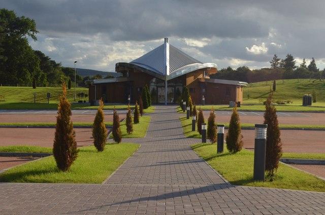 Baldarroch Crematorium Aberdeenshire 169 Andrew Tryon