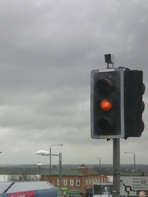 Uk Pelican Crossing Flashing Amber Light Gary