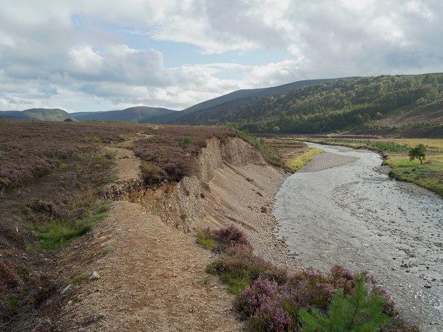 Erosion of the Glen Feshie footpath