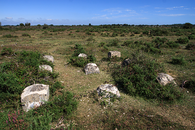 East Boldre airfield remains (1)
