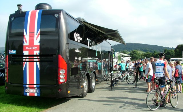 Tour Of Britain 2016 Builth Wells