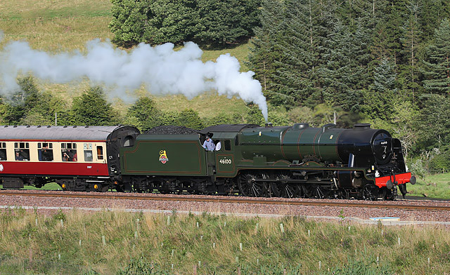 Royal Scot at Stow