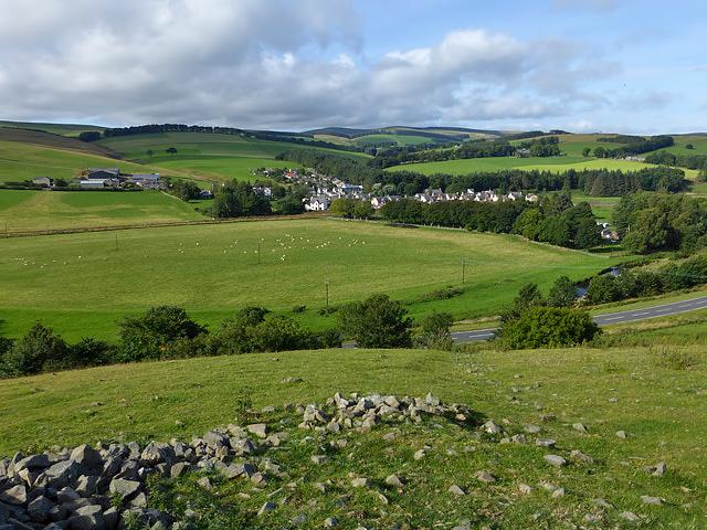 Farmland at Allanshaugh