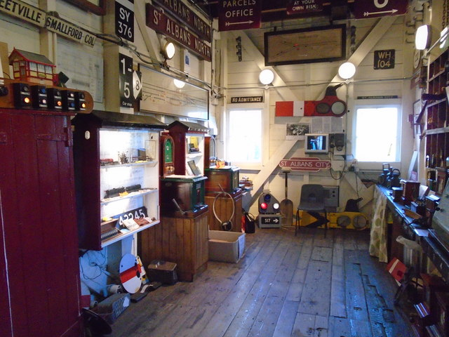 St Albans South Signal Box - Museum Room