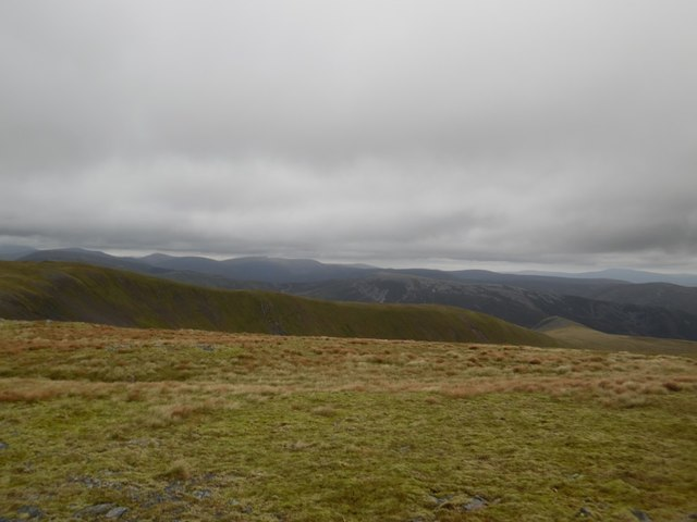 Passing Garbh-choire on the way to Glas Maol