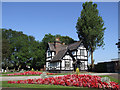 SJ9042 : Longton Garden of Remembrance Office by Brian Deegan
