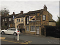 Dist:0.1km<br/>The house nearest the camera, 4 Holroyd Hill, dates from the early 19th century and is grade 2 listed (list entry 1133089) as are several other houses in this area, Wibsey being one of the oldest settlements in the Bradford area.