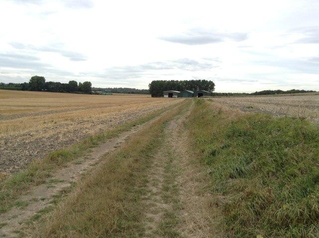 Footpath to Foxborough Hill