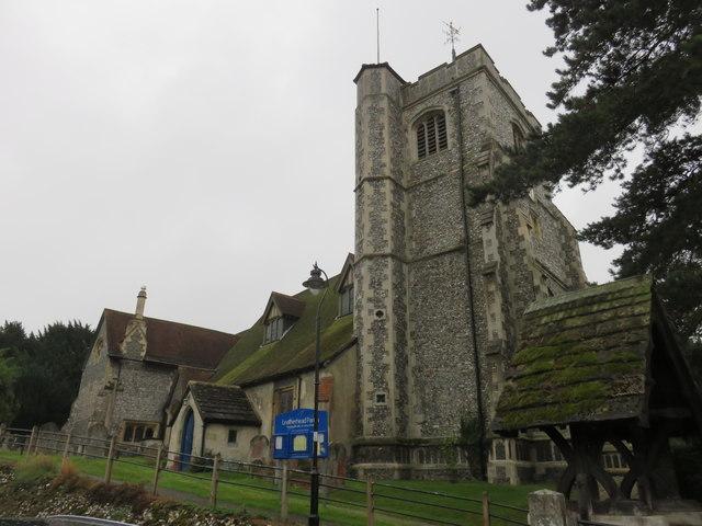 The parish church of St Mary & St Nicholas, Leatherhead