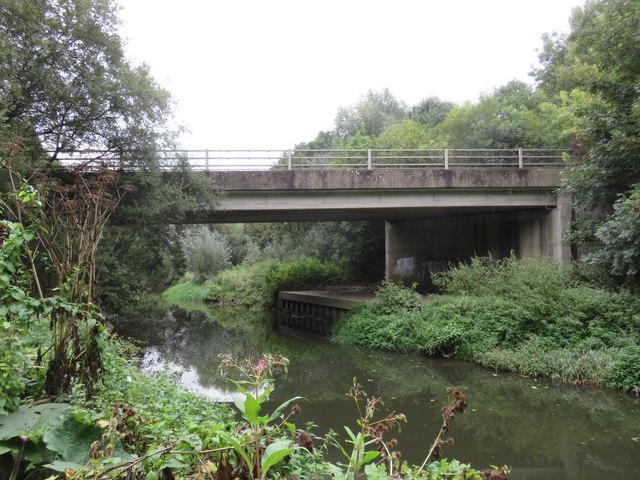 Road bridge over the River Mole