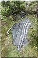 NJ2712 : Limestone, Glen Ernan by Richard Webb