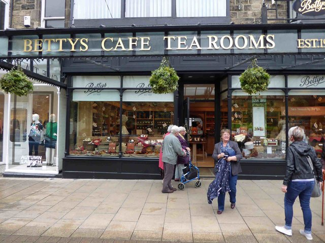 Bettys Cafe Tea Rooms Fat Betty Controversy