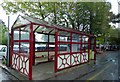 SE1645 : Burley in Wharfedale waiting room by Steve  Fareham