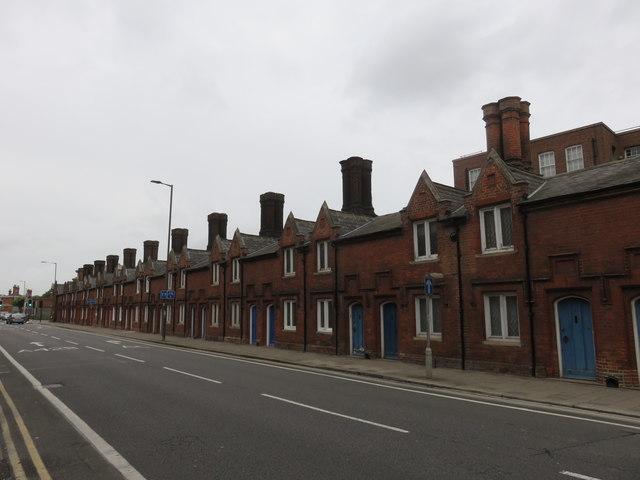 Almshouses, Dame Alice Street, Bedford