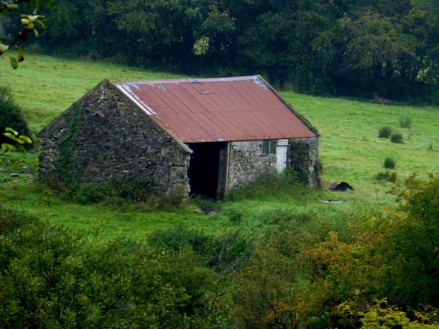 Old farm building, Cavanacaw Upper