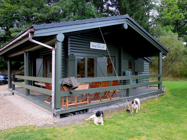 The Macallan fishers' hut by the river Spey