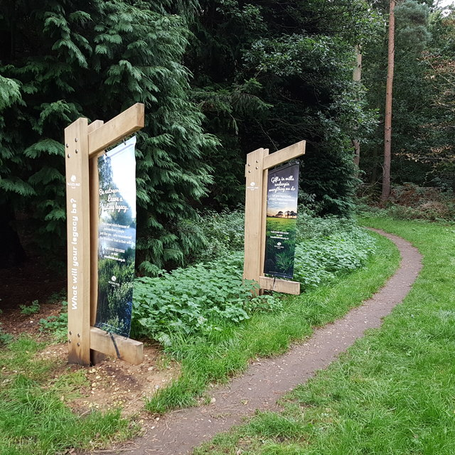 Reffley Wood Information Boards