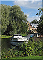 TL2970 : The Great Ouse at Hemingford Grey by John Sutton