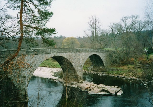 Bridge over the River Dee, Banchory