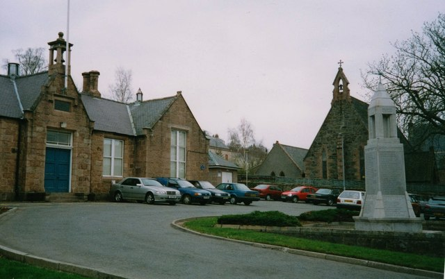 Council Offices and carpark, Banchory